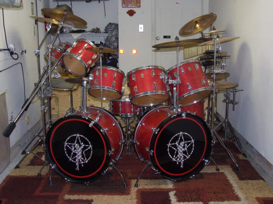 Erik L S Replica Drums