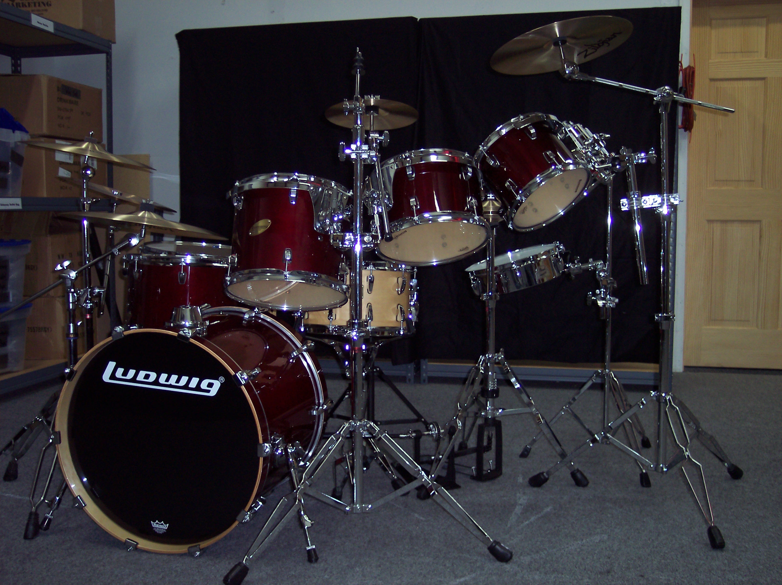 Cj S Replica Drums