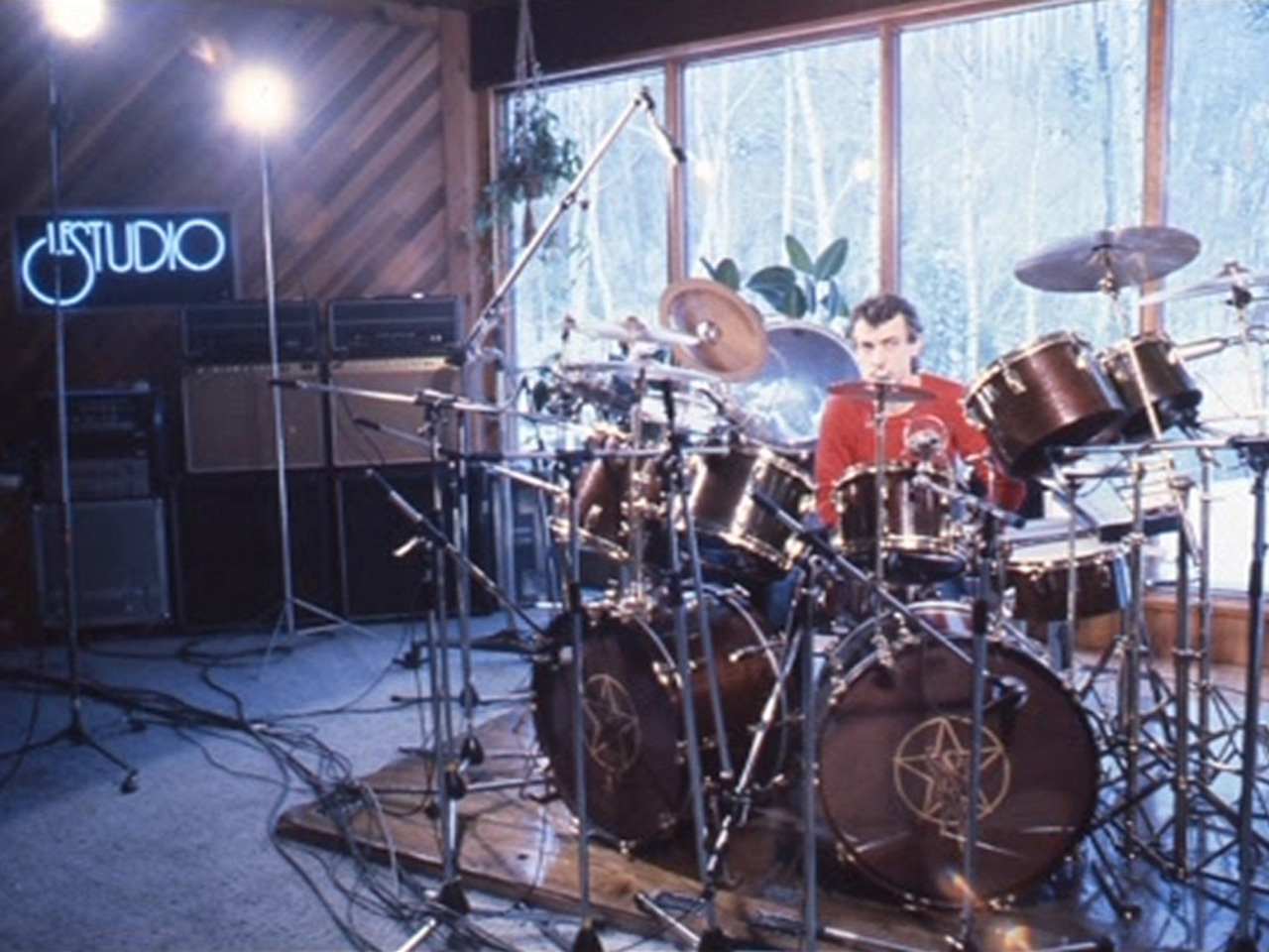 Home Recording Studio Design Book Neil Peart Moving Pictures Drums