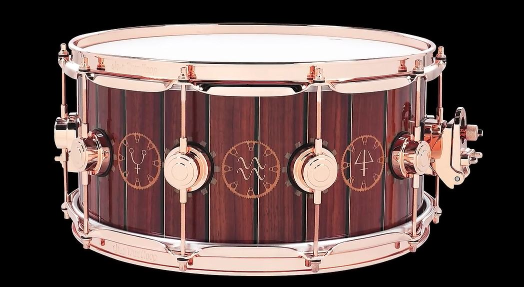 Neil Peart Dw Icon Snare