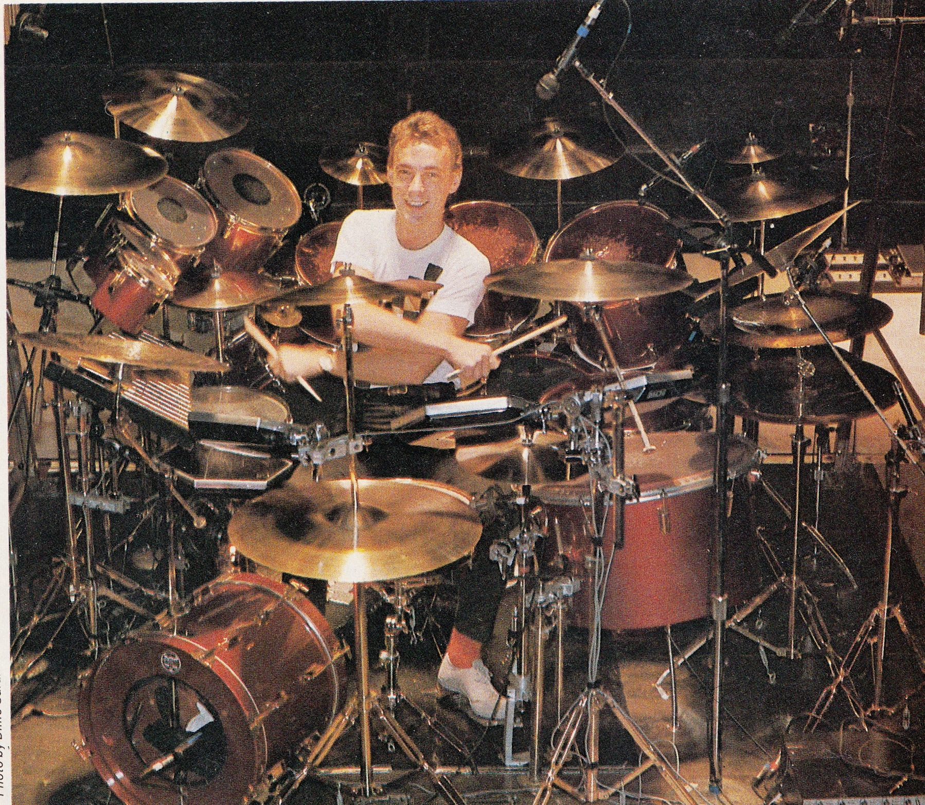 how tall is neil peart