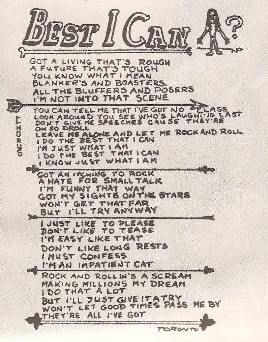 Queensryche - Best I Can Lyrics | MetroLyrics