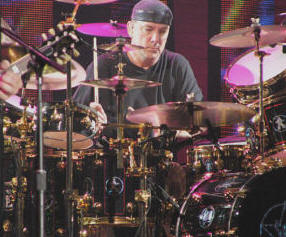 Neil Peart during R30 tour
