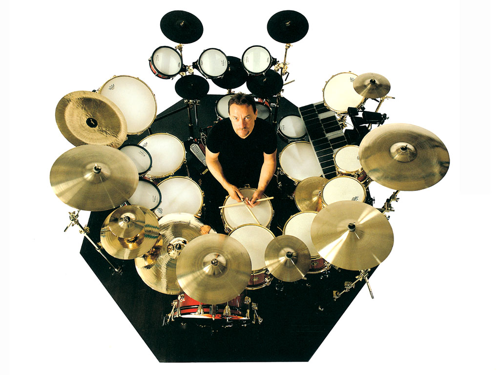neil peart drum set ringer