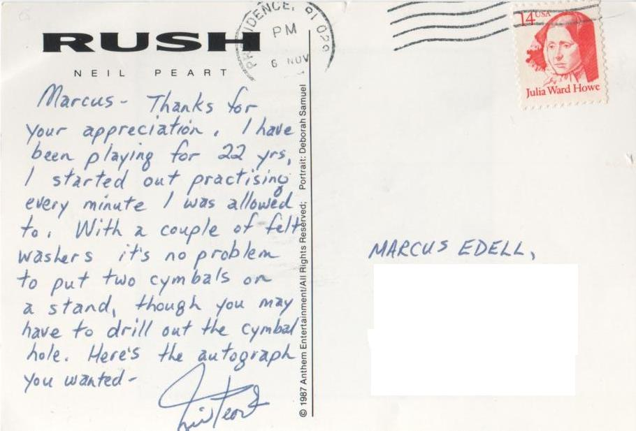 Postcards From Neil