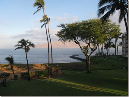 Sunrise in Maui