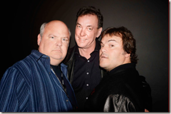 Neil Peart and Tenacious D (courtesy of Neilpeart.net)