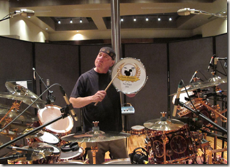 Neil Peart inducted into Classic Drummer 2011 Hall of Fame