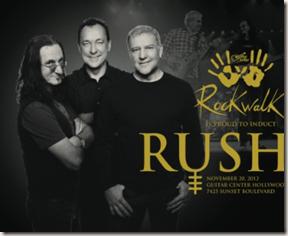 Rush - RockWalk official