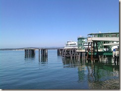 Photo of ferry dock
