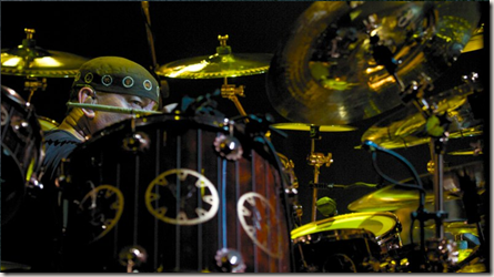 Neil Peart on July 17, 2010, in Toronto