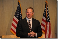 Photo of Al Gore by Jay Munro