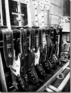 Geddy's bass collection