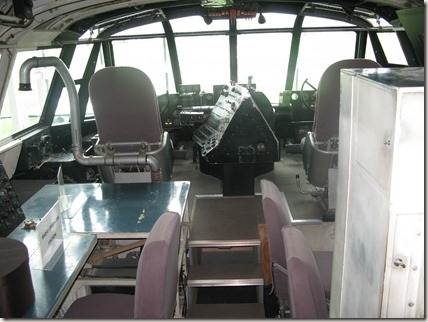 Hercules flight deck