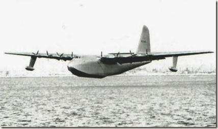 The Hercules' first and last flight