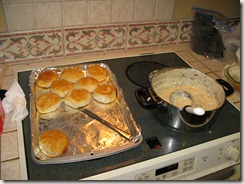 Brenda's Biscuits and Gravy