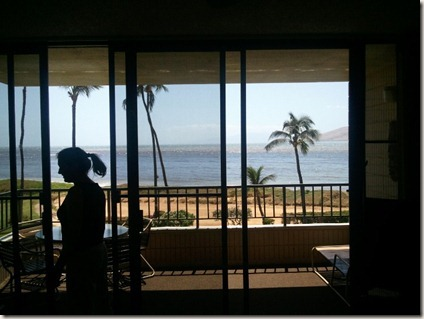 The view out the window of the Koa Lagoon