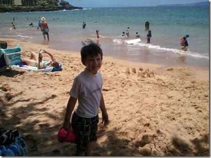 Drew at Ulua Beach Park