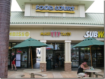 Food court in Kihei