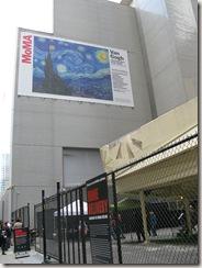 Outside MoMA