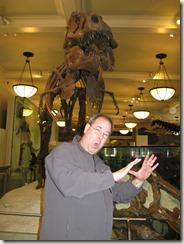Running from T-Rex