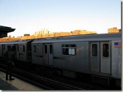 The Bronx at sunset