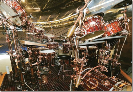 Picture of Neil Peart's Time Machine kit
