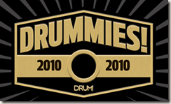 Image of Drummies badge