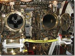 U.S.S. Bowfin forward torpedo tubes