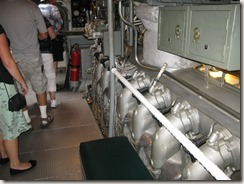 U.S.S. Bowfin engine room