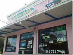 Snorkel Bob's in Oahu