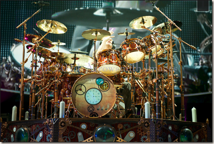Neil Peart in Greensboro, NC