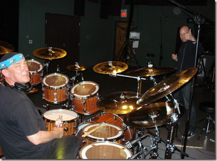 Neil Peart and Matt Scannell