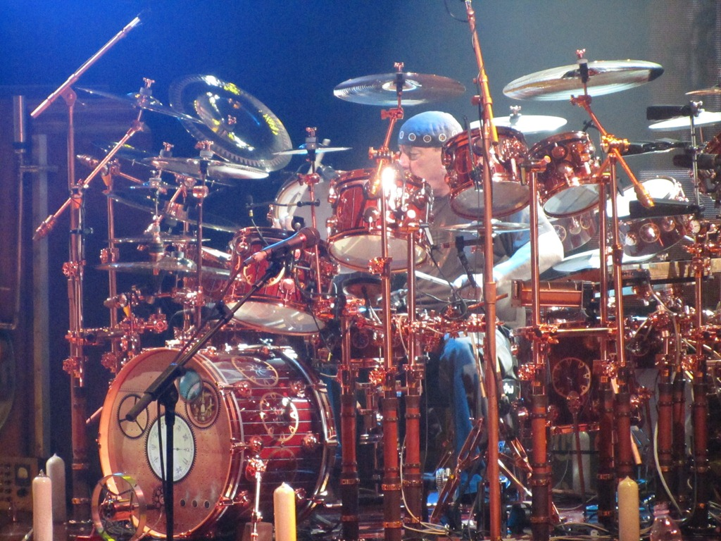 Neil Peart At Red Rocks 1 By Paul Secord