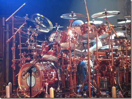 Neil Peart at Red Rocks #1 by Paul Secord