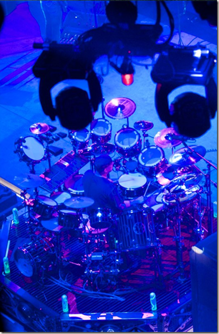 Photo of Neil Peart in Milwaukee, WI - 7/3/10