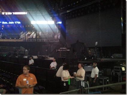 Phoenix - before the concert