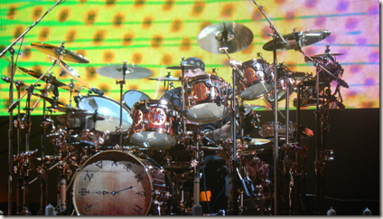 Photo of Neil Peart by Dan Martin