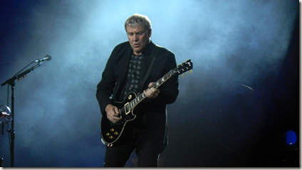 Photo of Alex Lifeson by Dan Martin
