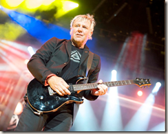 Alex Lifeson - Photo by John Arrowsmith