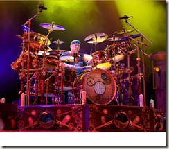Neil Peart - photo by John Arrowsmith