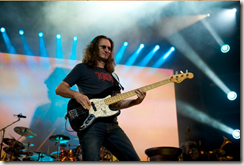 Geddy Lee - Photo by John Arrowsmith