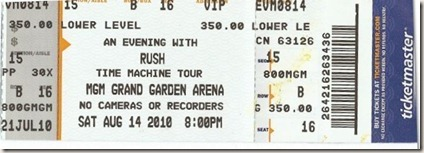 Rush ticket