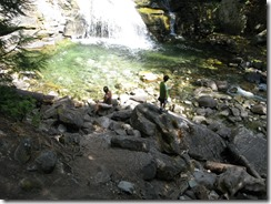 Brenda and Drew at Rainbow Falls