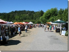 Farmer's Market in East Sound