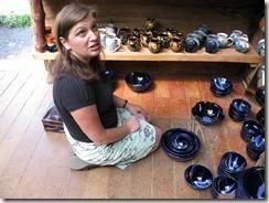 Brenda debates buying bowls