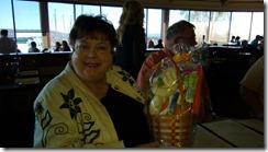 Cathy at her 70th birthday party at Palisade