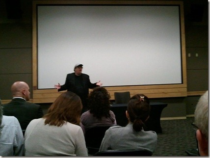 Michael Moore at Microsoft