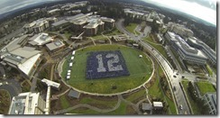 Microsoft employees show 12th Man spirit