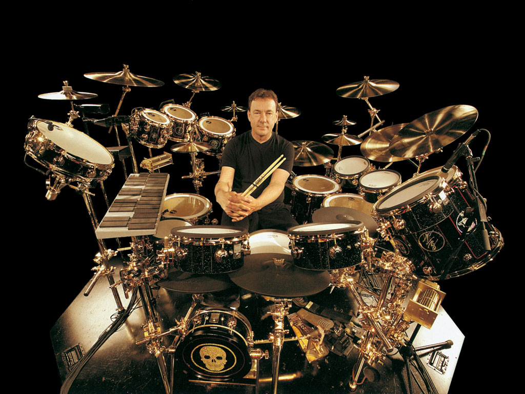 Neil Peart 8213 Drummer Lyricist